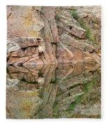 Rocky Mountain Reflections Fleece Blanket