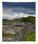 Roman Wall Country Fleece Blanket
