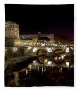 Rome Ponte San Angelo Fleece Blanket