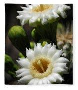 Saguaro Blooms  Fleece Blanket