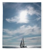 Sailing Fleece Blanket