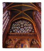 Saint Chapelle Fleece Blanket