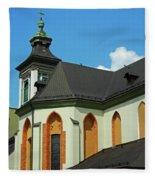 Saint Mary Magdalene Church  Fleece Blanket