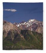 Salt Lake City Fleece Blanket