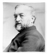 Samuel Langley, American Astronomer Fleece Blanket