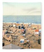 Sand Castles, C1895 Fleece Blanket