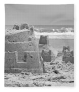 Sandcastle  Fleece Blanket
