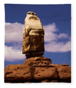 Santa Clause At Canyonlands National Park Fleece Blanket