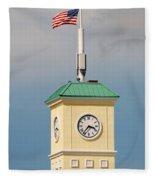 Save The Clock Tower Fleece Blanket