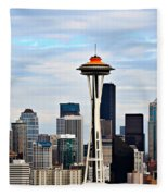 Seattle Fleece Blanket