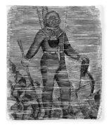 Sevastopol: Diver, 1858 Fleece Blanket
