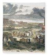 Shreveport Levee, 1872 Fleece Blanket