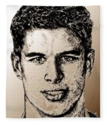Sidney Crosby In 2007 Fleece Blanket
