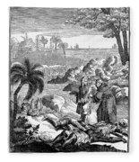 Sieur De La Salle Fleece Blanket