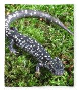 Slimy Salamander Fleece Blanket