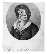 Smallpox Vaccination, 1807 Fleece Blanket