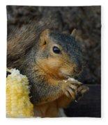 So Much Sweet Corn So Little Time Fleece Blanket