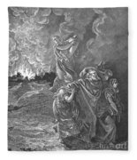 Sodom & Gomorrah Fleece Blanket