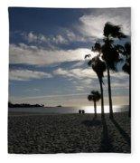 Sombrero Beach Fleece Blanket