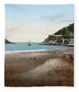 Spain: San Sebastian Fleece Blanket