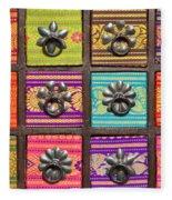 Spice Cabinet Fleece Blanket