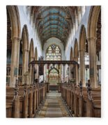 St Edmund King And Martyr Southwold Fleece Blanket