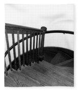 Stairway To Somewhere Fleece Blanket