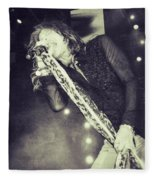 Steven Tyler In Concert Fleece Blanket