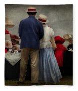 Store - The Hat Stand  Fleece Blanket