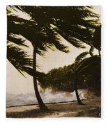 Storm Surge Fleece Blanket