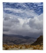 Summer Storm Fleece Blanket