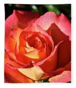 Sunny Pink Fleece Blanket