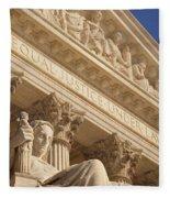 Supreme Court Fleece Blanket