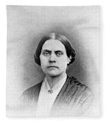 Susan B. Anthony, American Civil Rights Fleece Blanket