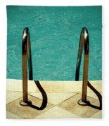 Swimming Pool Fleece Blanket