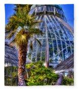 Tacoma Botanical Conservatory Fleece Blanket