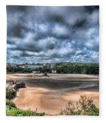 Tenby Pembrokeshire Fleece Blanket