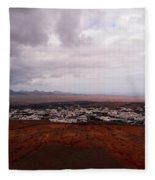 Tequise From Guanapay Castle  Fleece Blanket