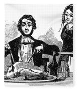 Thanksgiving, 19th Century Fleece Blanket