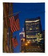 The American Flag Fleece Blanket