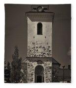 The Church Of Kuopio Fleece Blanket