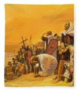 The Crusades Fleece Blanket