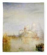 The Dogana And Santa Maria Della Salute Venice Fleece Blanket