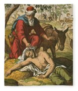 The Good Samaritan Fleece Blanket