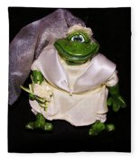 The Green Bride Fleece Blanket