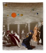 The New Planetarium In Paris, 1880 Fleece Blanket
