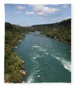The Niagara River Fleece Blanket