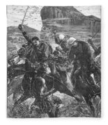 The Zulu War, 1879 Fleece Blanket