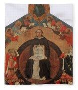 Thomas Aquinas, Italian Philosopher Fleece Blanket