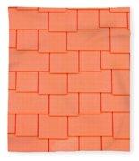 Tiles Fleece Blanket